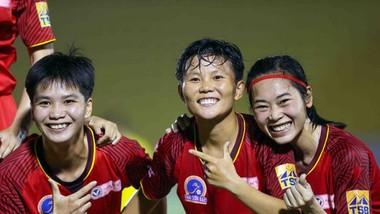 Đội nữ TPHCM I với cú đúp vô địch trong năm 2020. Ảnh: Dũng Phương