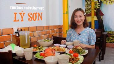 Thưởng thức ẩm thực đảo Lý Sơn