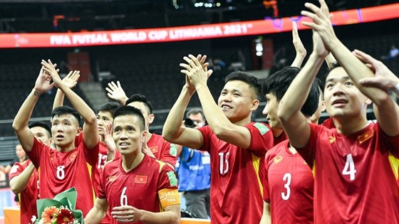 Vietnam to face Russia in knock-out round of Futsal World Cup