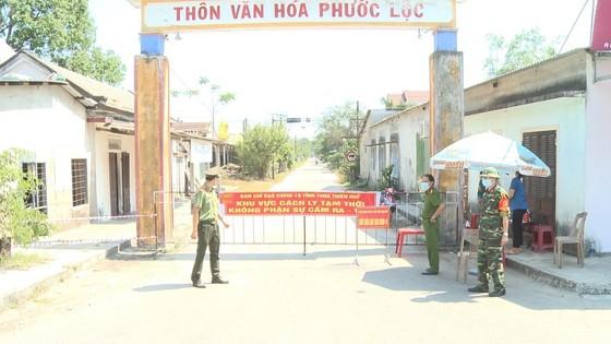 Khu cách ly tạm thời tại thôn Phước Lộc, xã Lộc Tiến, huyện Phú Lộc, tỉnh Thừa Thiên - Huế
