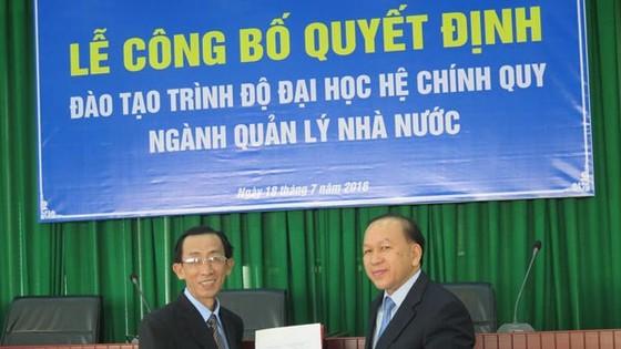 Học viện Cán bộ TPHCM được tuyển sinh Đại học hệ chính quy