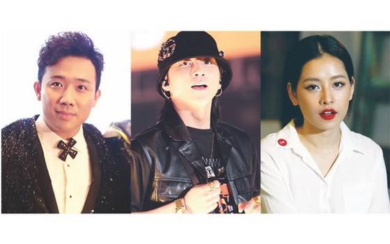 鎮成、山松M-TP、Chi Pu是社交網流量最高的前三名越南藝人。