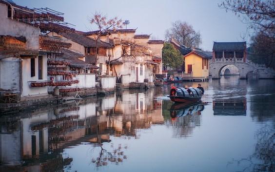 中國紹興市旅遊美景一瞥。(圖源:互聯網)