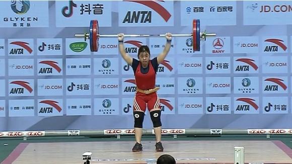 Hoàng Thị Duyên đoạt HCĐ tại giải châu Á.