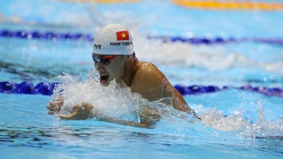 Kình ngư Phạm Thanh Bảo sẽ cùng các đồng đội tập huấn tại Hungary trong thời gian tới. Ảnh: DŨNG PHƯƠNG