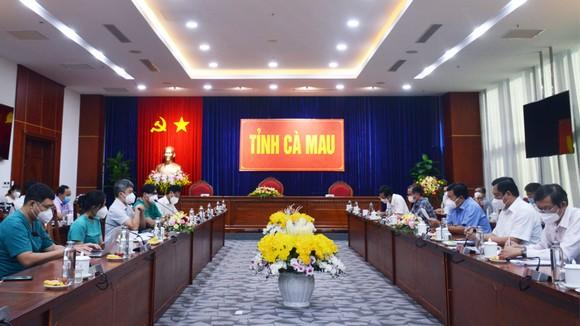 Đoàn công tác của Bệnh viện Chợ Rẫy làm việc với tỉnh Cà Mau