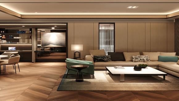 Phối cảnh nội thất của dự án khu căn hộ hàng hiệu Ritz-Carlton Hanoi. Ảnh: Masterise Homes