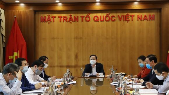 MTTQ họp bàn về triển khai nội dung kiểm tra, giám sát bầu cử