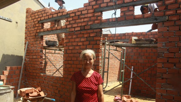 Quảng Ngãi: Bộ đội xây nhà tình nghĩa cho dân xứ biển