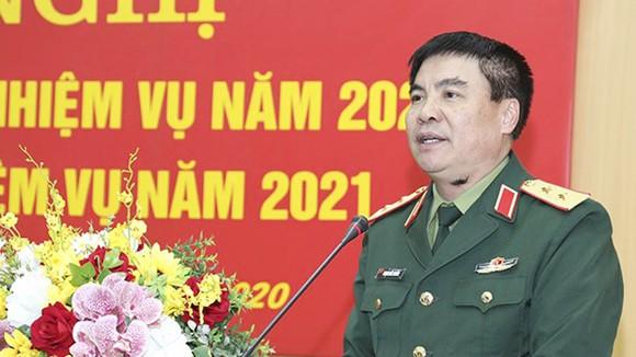 Trung tướng Phạm Đức Duyên. Ảnh: Bộ Quốc phòng