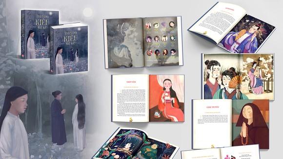 """Ngoài ý tưởng độc đáo, Truyện Kiều tự kể còn """"ghi điểm"""" bởi những bức tranh của 12 họa sĩ"""