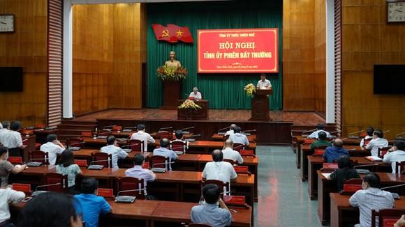 Hội nghị Tỉnh ủy Thừa Thiên - Huế bầu đồng chí Nguyễn Văn Phương làm Phó Bí thư Tỉnh ủy