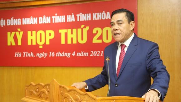 Ông Võ Trọng Hải, tân Chủ tịch UBND tỉnh Hà Tĩnh