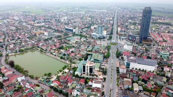 Một góc trung tâm TP Hà Tĩnh (tỉnh Hà Tĩnh)