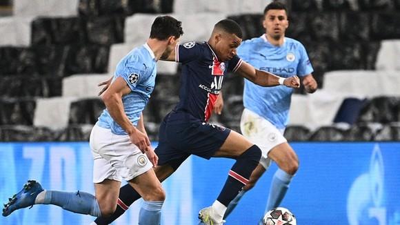 Man.City đã thành công ngăn cản Kylian Mbappe ở mùa qua. Ảnh: Getty Images