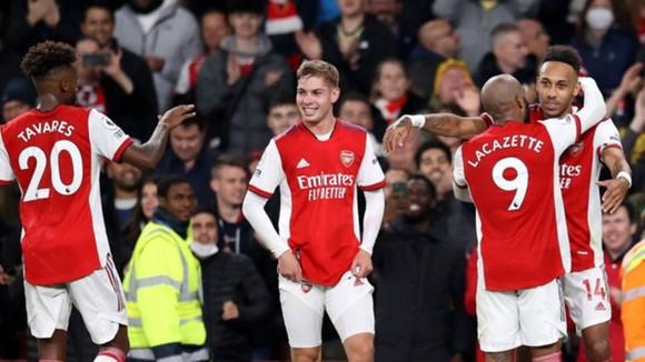 Arsenal đang hồi sinh mạnh mẽ sau khởi đầu thảm hại ở mùa giải này. Ảnh: Getty Images