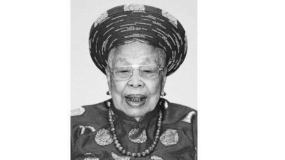 Mẹ Việt Nam anh hùng NGUYỄN THỊ CẨM từ trần