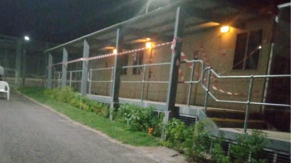 Các nhà vận động tị nạn cho biết đường hầm đã gần vượt ra bên ngoài hàng rào của trung tâm.