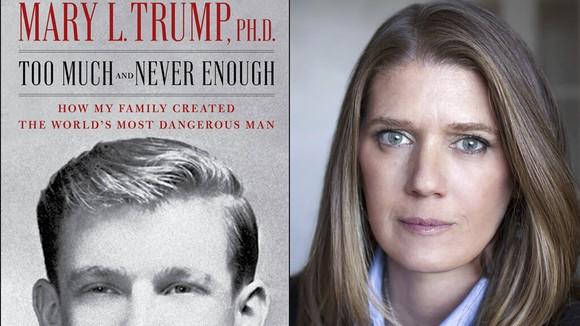 Mary Trump, cháu gái của Tổng thống Donald Trump và cuốn hồi ký xuất bản năm 2020. Ảnh: Politico
