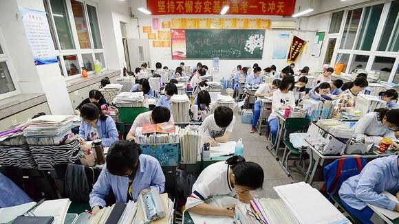 Một lò luyện thi ở Trung Quốc