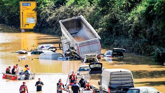 Lũ lụt nặng nề tại Đức vừa qua là hậu quả của biến đổi khí hậu