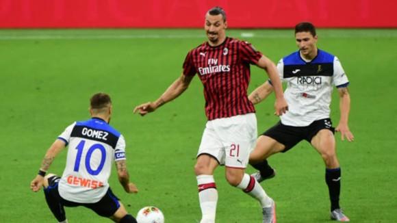 Zlatan Ibrhimovic trở lại để dẫn dắt Milan đối đầu Atalanta