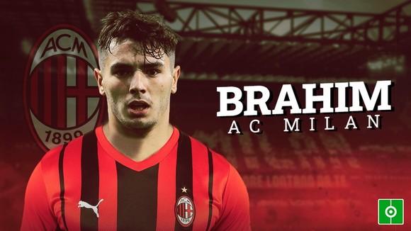 Milan đã mượn Brahim Diaz thêm 2 năm từ Real Madrid