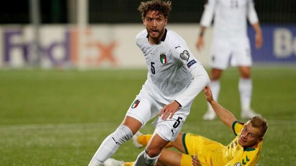 Manuel Locatelli trong màu áo Sassuolo
