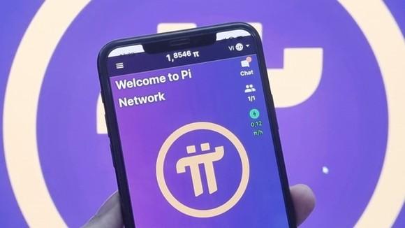 """Ứng dụng Pi Network được sử dụng để """"đào"""" đồng Pi Coin."""