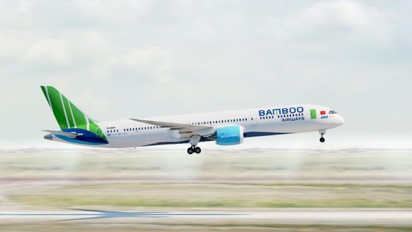 Hãng bay do đại gia Trịnh Văn Quyết sáng lập sẽ bắt đầu bay thẳng đến Mỹ từ ngày 1-9-2021. Ảnh: Bamboo Airways.