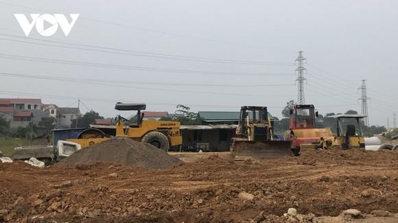 Thi công một dự án tái định cư phục vụ dự án Khu liên hiệp xử lý rác thải Sóc Sơn.