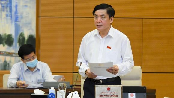 Tổng Thư ký Quốc hội Bùi Văn Cường
