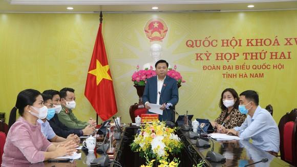 ĐBQH Phạm Hùng Thắng (Hà Nam) phát biểu