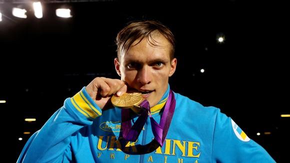 Cũng như AJ, Usyk giành HCV ở Olympic London