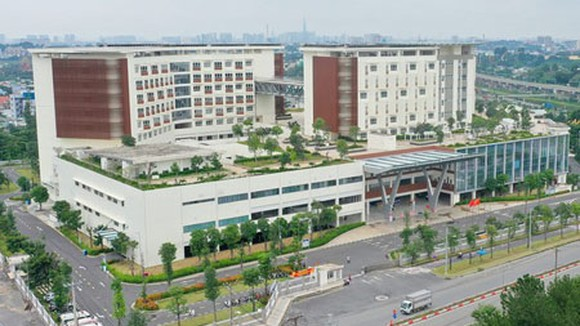 The second branch of HCMC Oncology Hospital is modernly built to serve patients. (Photo: SGGP)