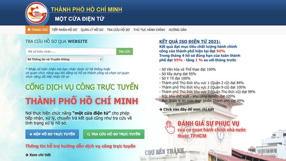 HCMC DoIC delivers all level-4 public services online