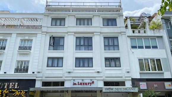 Khách sạn tại Quận 7, nơi đội tuyển Việt Nam đang thực hiện cách ly