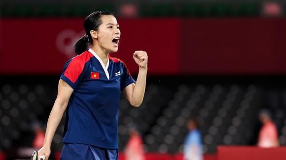 Tay vợt Nguyễn Thùy Linh vươn lên hạng 46 thế giới. Ảnh: GETTY IMAGES