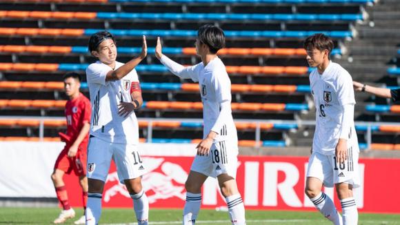 Nhật Bản trở thành đội tuyển đầu tiên vượt qua vòng loại U23 châu Á 2022. Ảnh: AFC