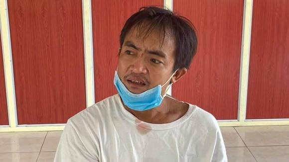 Lê Văn Hải tại cơ quan điều tra công an huyện Quảng Ninh