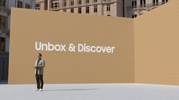 Samsung tại sự kiện Unbox & Discover