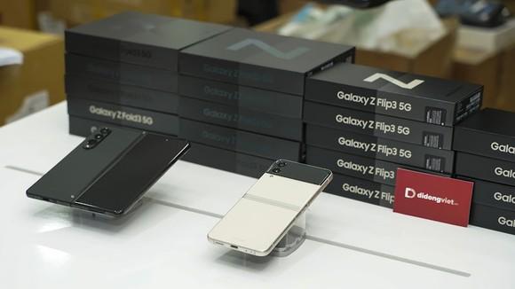 Galaxy Z Fold3 5G và Z Flip3 5G, sản phẩm mới nhất của Samsung