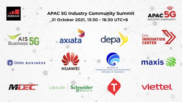 Cộng đồng Ngành công nghiệp 5G APAC bao gồm 12 thành viên