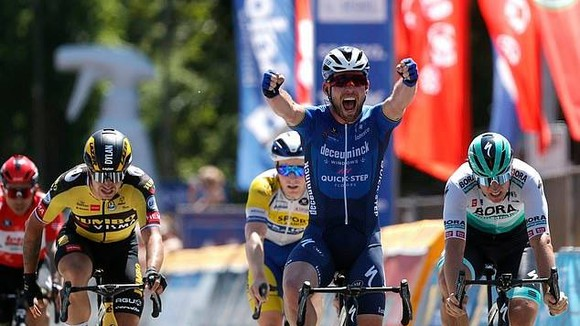 Mark Cavendish từng thắng 30 chặng ở Tour de France