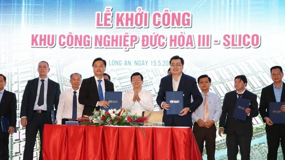 Ký kết thuê đất tại 1 KCN ở Long An