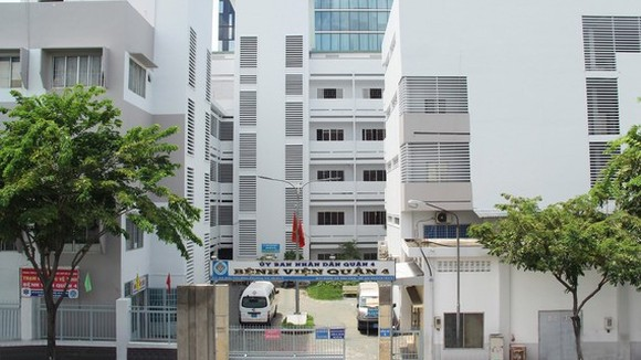 District 4's Hospital in HCMC has stopped admitting new patients due to a suspected Covid-19 infection from June 18.