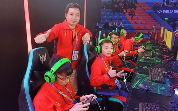 越南電子競技俱樂部。(圖源:互聯網)