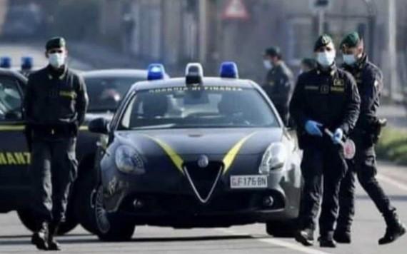 圖為意大利稅務警察。(圖源:互聯網)