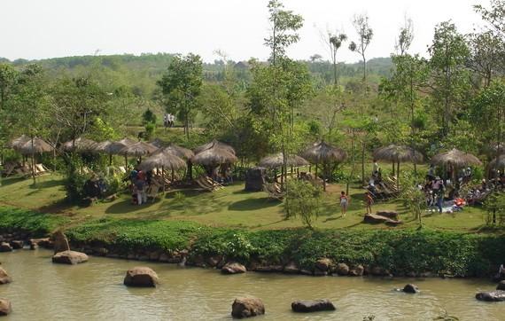 綠色生態區日益吸引眾多遊客前往度假。