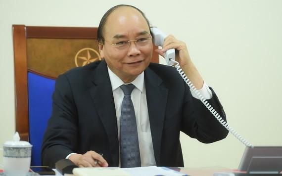國家主席阮春福。(圖源:光孝)
